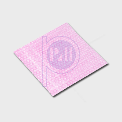 Pink Antistatic Double Layer Bubble